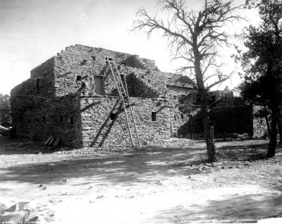 Mary Jane Colter, Hopi House, Grand Canyon, 1905. National Park Service