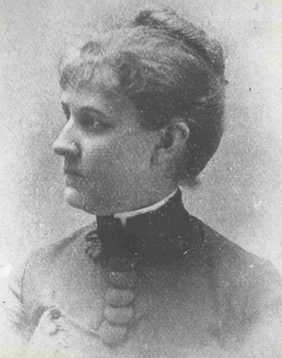 Louise Blanchard Bethune, circa 1891