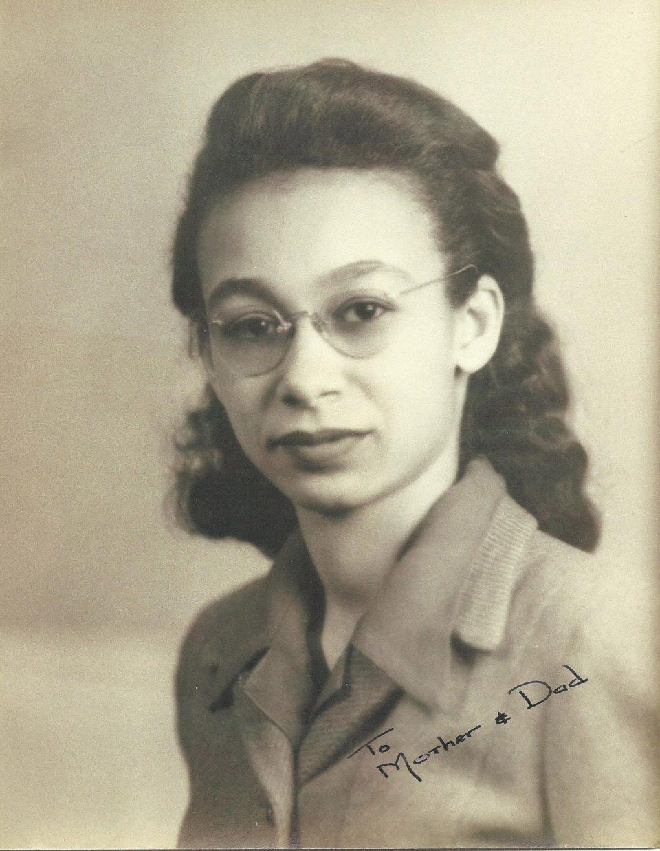 Georgia Louise Harris Brown, 1936. Courtesy of Sarah Brown