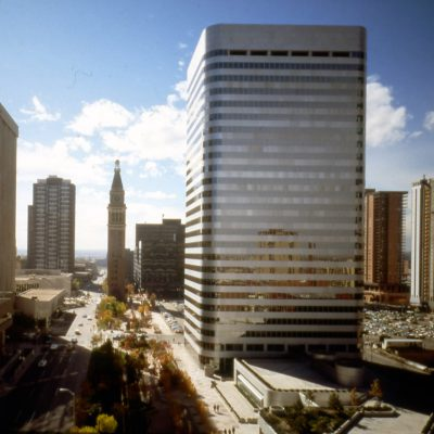 Skidmore, Owings & Merrill, Patricia Swan (Associate Partner, Senior Designer), Denver National Bank Building, Denver, 1981. Photograph by Hedrich Blessing. Skidmore, Owings & Merrill LLP