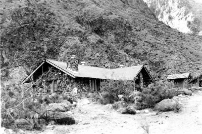 Mary Jane Colter, Lodge, Phantom Ranch, Grand Canyon, 1922. Grand Canyon Museum Collection