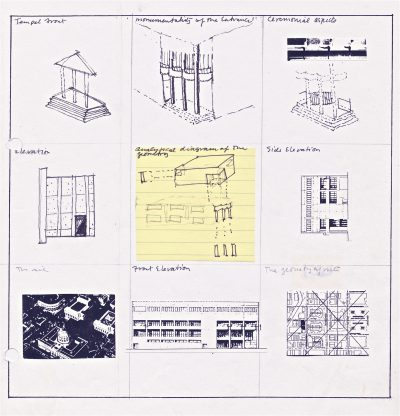 Beverly Willis, conceptual designs for the San Francisco Ballet Building, San Francisco, 1979. Beverly Willis Archive