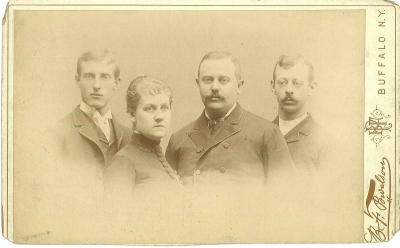 Bethune, Bethune & Fuchs firm, circa 1891. Courtesy of Nancy Herlan
