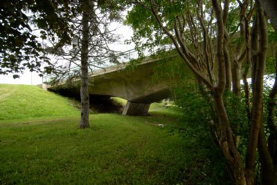 Van Ginkel Associates and Ove Arup & Partners, Foot Bridge in Bowring Park, St. Johns, Newfoundland, Canada, 1959. Photograph by Robert Mellin, 2009 © Robert Mellin