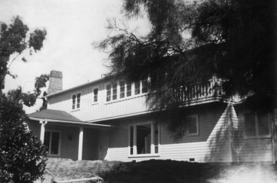 Lilian J. Rice, former Ecke Ranch House, Saxony Drive, Encinitas, Calif., 1935. The ranch house is now part of Leichtag Commons, Encinitas, Calif. Courtesy of the Ecke Family