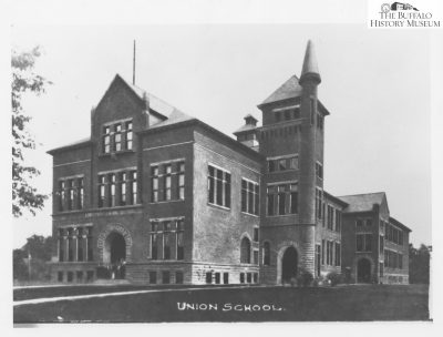 Louise Blanchard Bethune, Bethune, Bethune & Fuchs, Lockport High School, Buffalo, N.Y., 1890. Buffalo History Museum