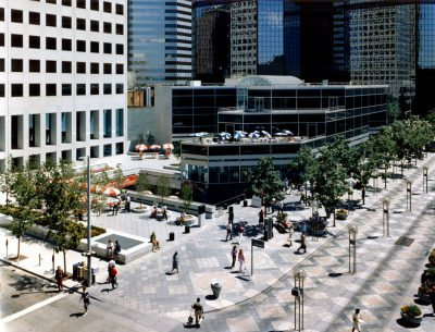 Skidmore, Owings & Merrill, Patricia Swan (Associate Partner, Senior Designer), Republic Plaza, Denver, 1983. Skidmore, Owings & Merrill LLP, Chicago