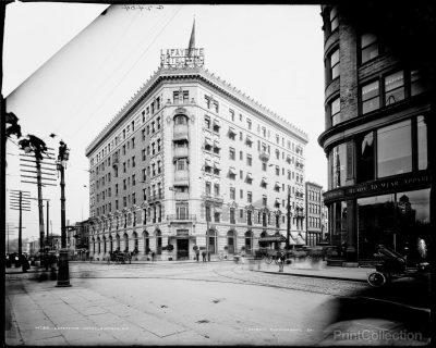 Louise Blanchard Bethune, Bethune, Bethune & Fuchs, Lafayette Hotel, Buffalo, N.Y., 1904. Western New York Heritage Press