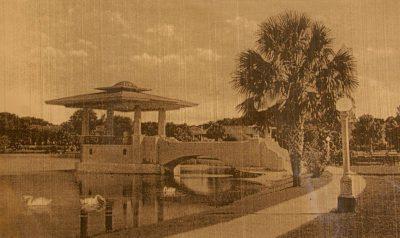 Isabel Roberts, Eola Park Bandshell, Orlando, Fla., 1924, demolished 1956. St. Cloud Heritage Museum