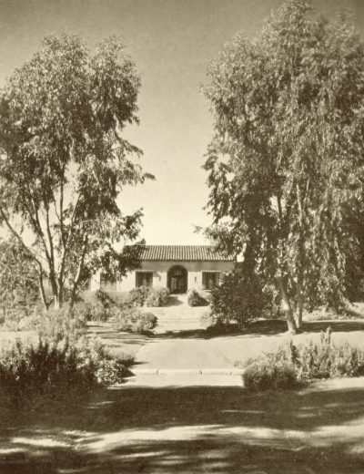 Lilian J. Rice, La Morada (the guest house) Civic Center, Rancho Santa Fe, 1922–23. Courtesy of Diane Welch