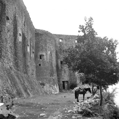 Fortress La Ferière, Haiti. Photo by Sibyl Moholy-Nagy. Published in Native Genius of Anonymous Architecture, 1957, p. 69. Courtesy of UCSC collection. © Hattula Moholy-Nagy