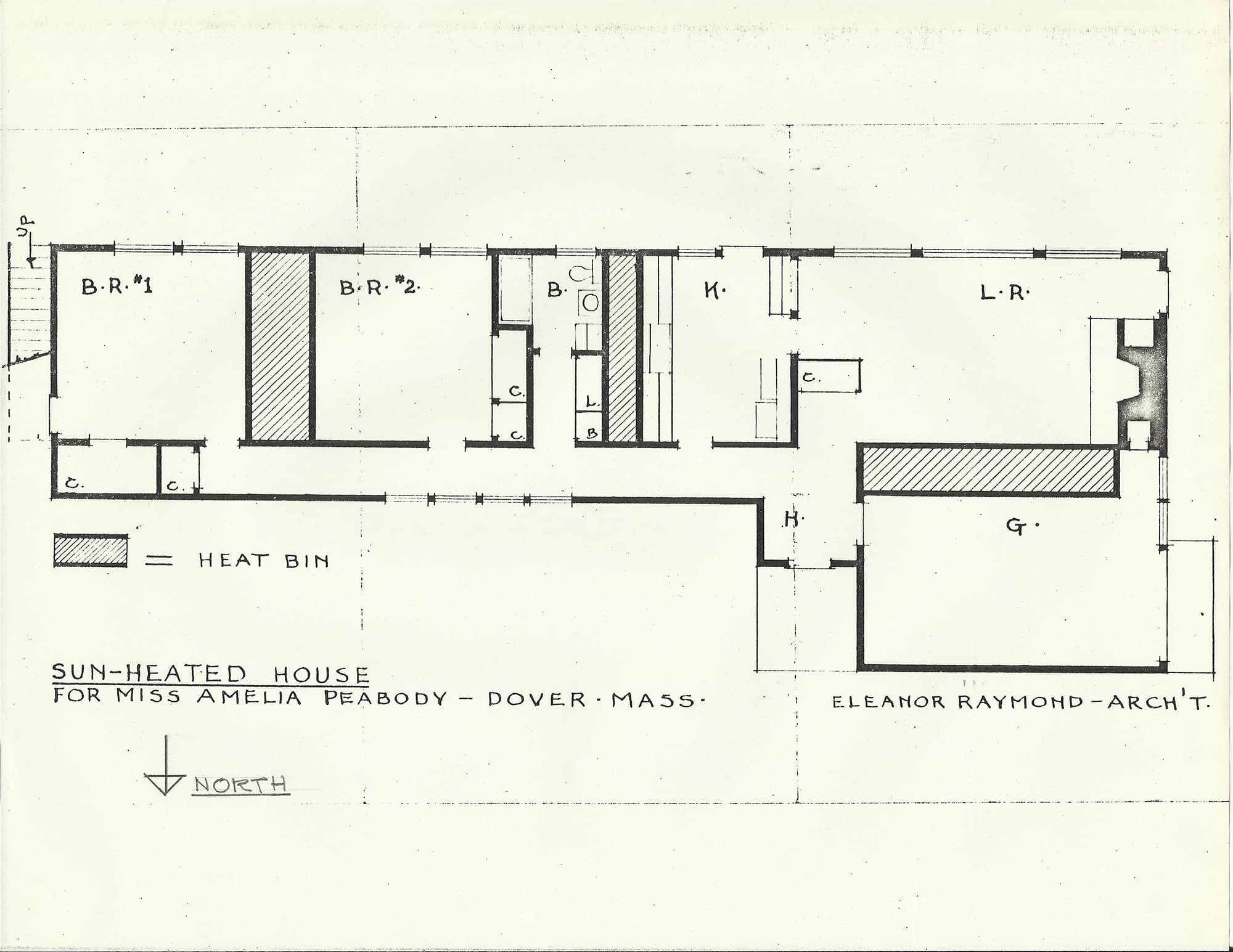 Eleanor Raymond   Pioneering Women of American Architecture on elizabeth homes plans, ryan homes plans, victoria homes plans, jordan homes plans,