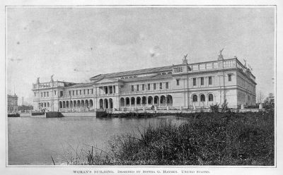 Sophia Hayden, Woman's Building of the World's Columbian Exposition, Chicago, 1893