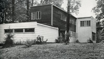 Alfred and Jane West Clauss, Mengel House, Knoxville, Tenn., 1940. Architectural Record, December 1940 © Architectural Record/McGraw Hill
