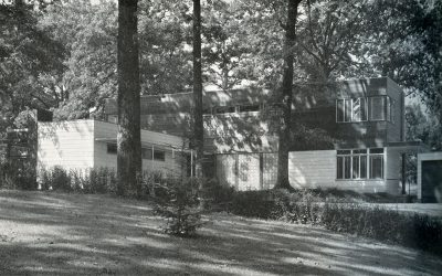 Alfred and Jane West Clauss, Mengel House, Knoxville, Tenn., 1940. Architectural Record, December 1940. © Architectural Record/McGraw Hill