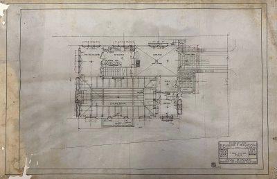 Julia Morgan, Mitchell-Williams House, first-floor plan, Berkeley, Calif., 1915. Julia Morgan Collection, Environmental Design Archives, University of California, Berkeley