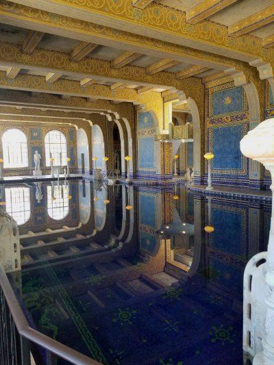 Julia Morgan, Roman pool, Hearst Castle, San Simeon, Calif., 1927–32. Photograph by Karen McNeill