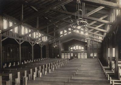 Julia Morgan, St. John's Presbyterian Church, Berkeley, Calif., 1908–16. Julia Morgan Collection, Environmental Design Archives, University of California, Berkeley
